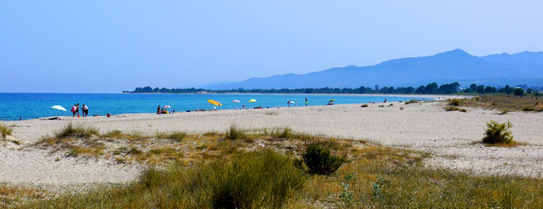 A proximité d'une sublime plage...